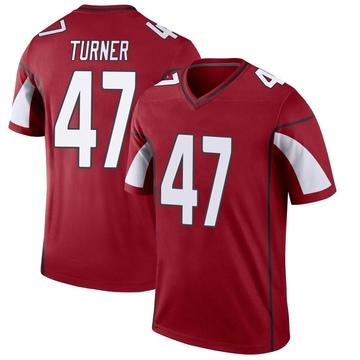 Youth Nike Arizona Cardinals Zeke Turner Cardinal Jersey - Legend