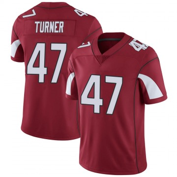 Youth Nike Arizona Cardinals Zeke Turner Cardinal Team Color Vapor Untouchable Jersey - Limited